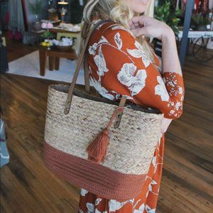 Take Me Somewhere Special Woven Bag